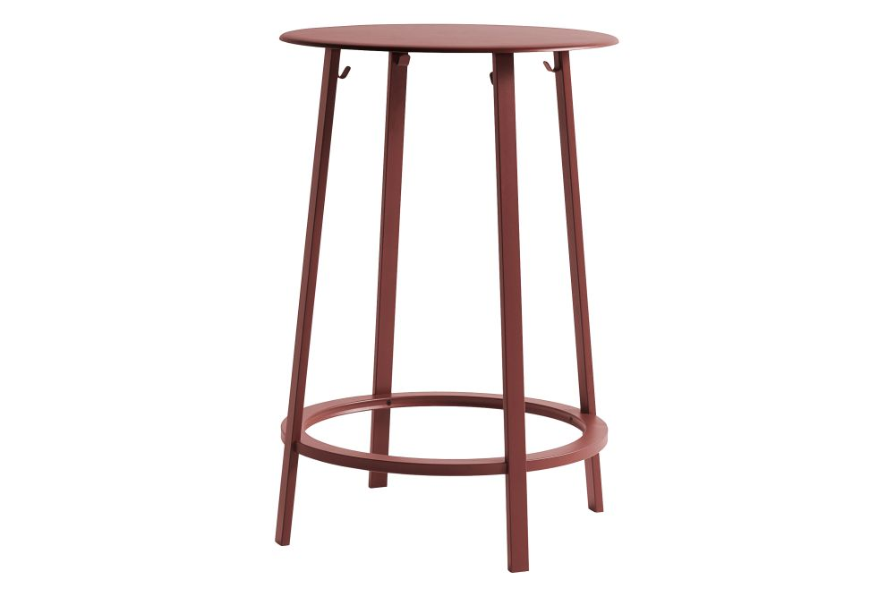 Metal Red,Hay,High Tables,bar stool,furniture,stool,table