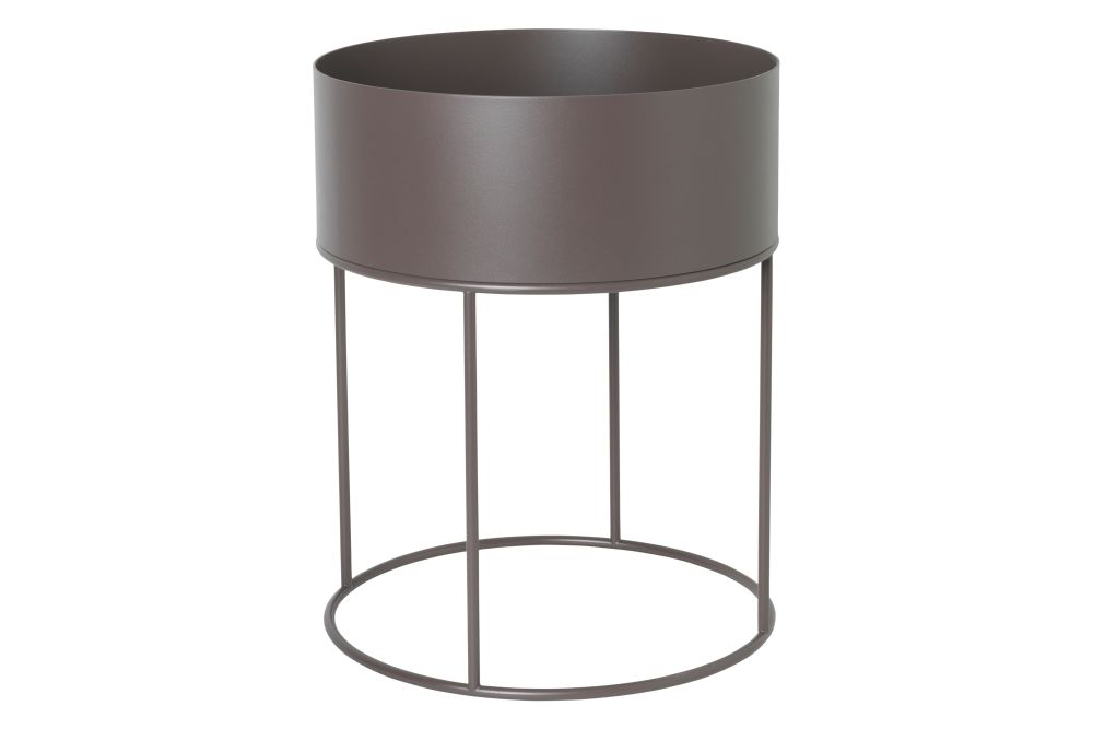 Light Grey RAL 7044,ferm LIVING,Plant Pots,cylinder,light fixture,lighting,product,table