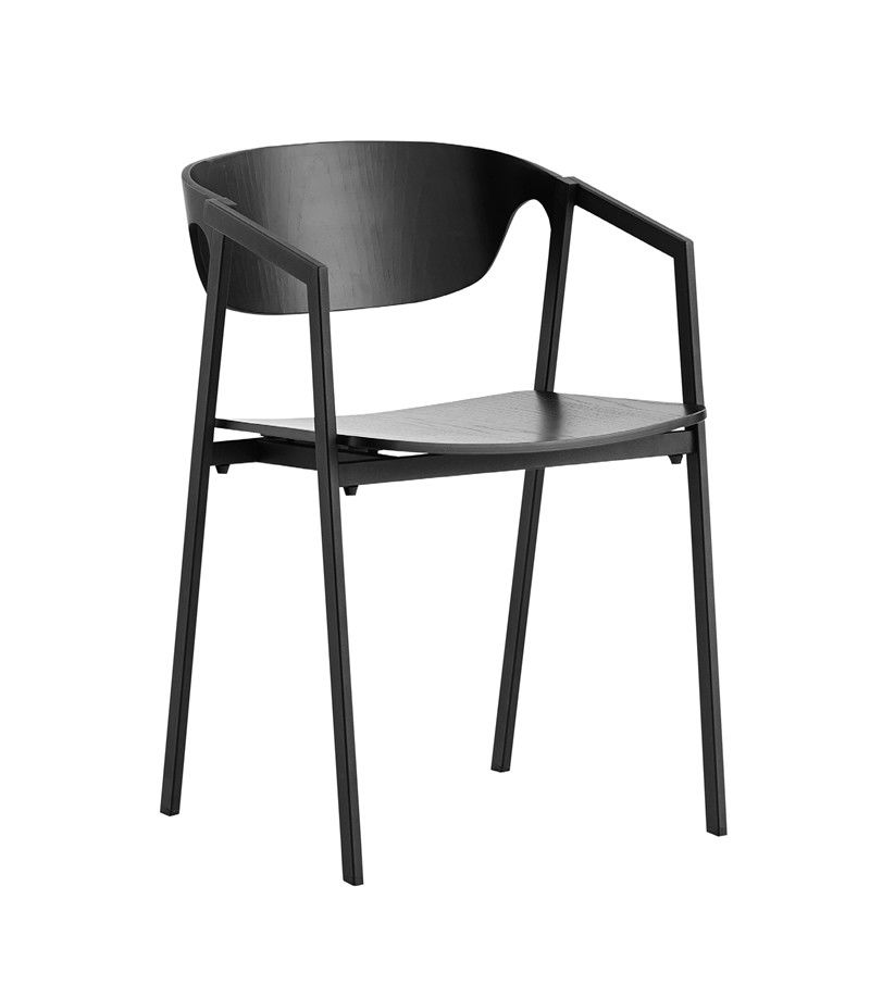 S.A.C. dining chair - set of 2 by WOUD