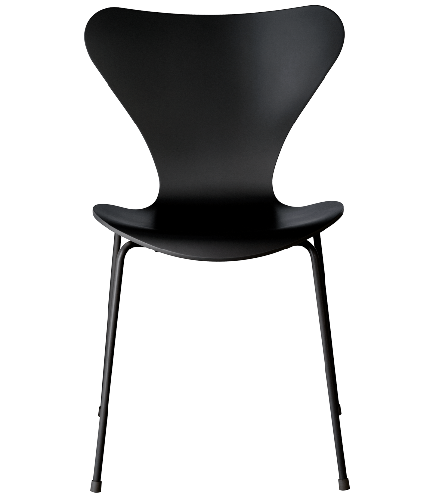 Series 7 Monochrome Chair by Fritz Hansen