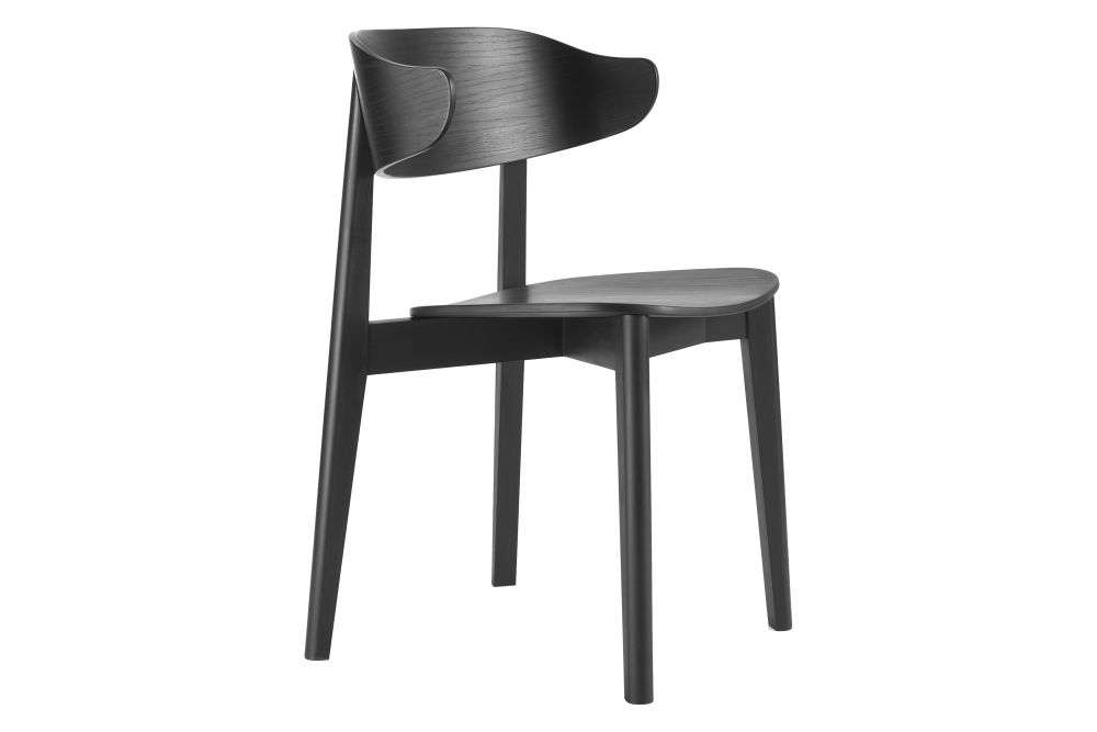 Jet Black RAL 9005,Deadgood,Dining Chairs,chair,furniture