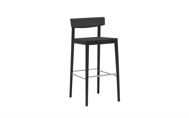 Wood finish Beech 311,Andreu World,Workplace Stools,bar stool,chair,furniture,stool