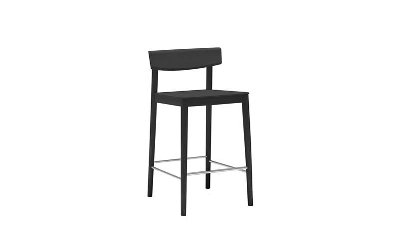 Wood finish Beech 311,Andreu World,Workplace Stools,bar stool,chair,furniture,stool,table