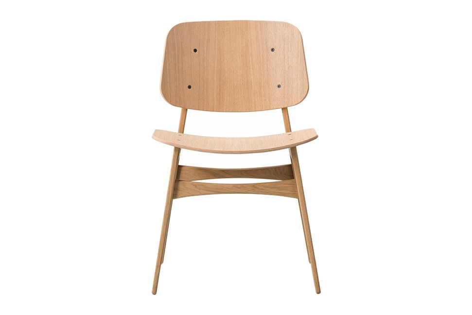 Oak lacquered,Fredericia,Dining Chairs,black,chair,furniture