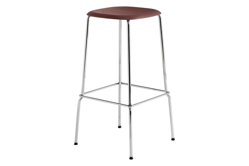 Wood Black Oak / Metal Black,Hay,Stools,bar stool,furniture,stool,table
