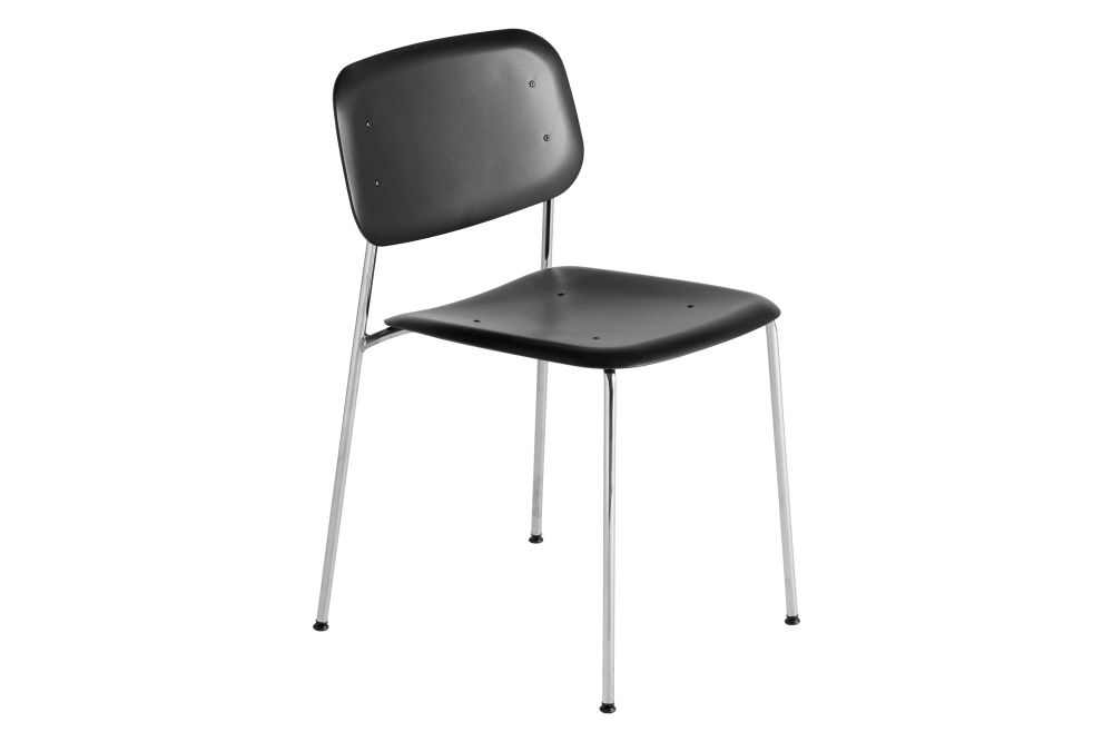 Plastic Black / Metal Chromed Steel,Hay,Dining Chairs,chair,furniture,product