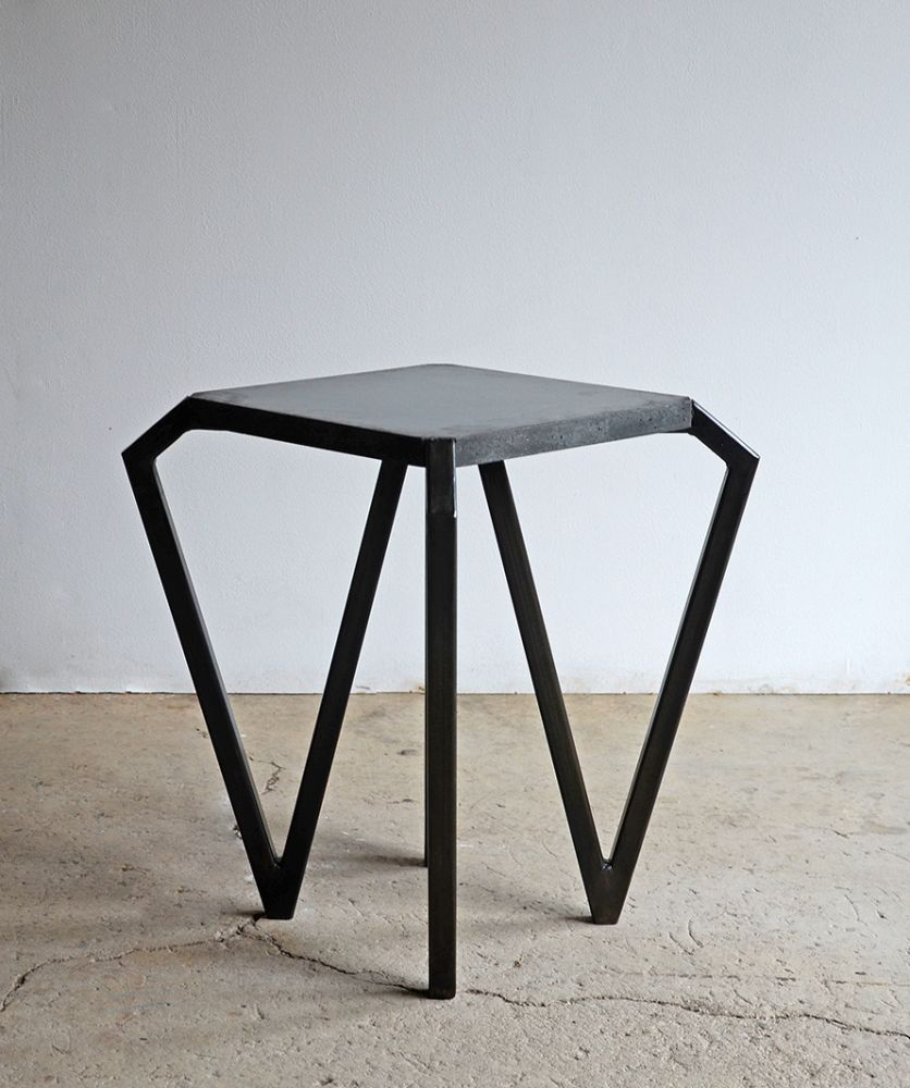 Tamasine Osher Design,Coffee & Side Tables,coffee table,end table,furniture,iron,outdoor table,stool,table