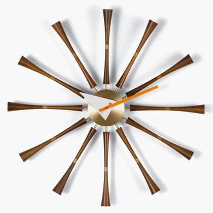 Spindle Clock by Vitra