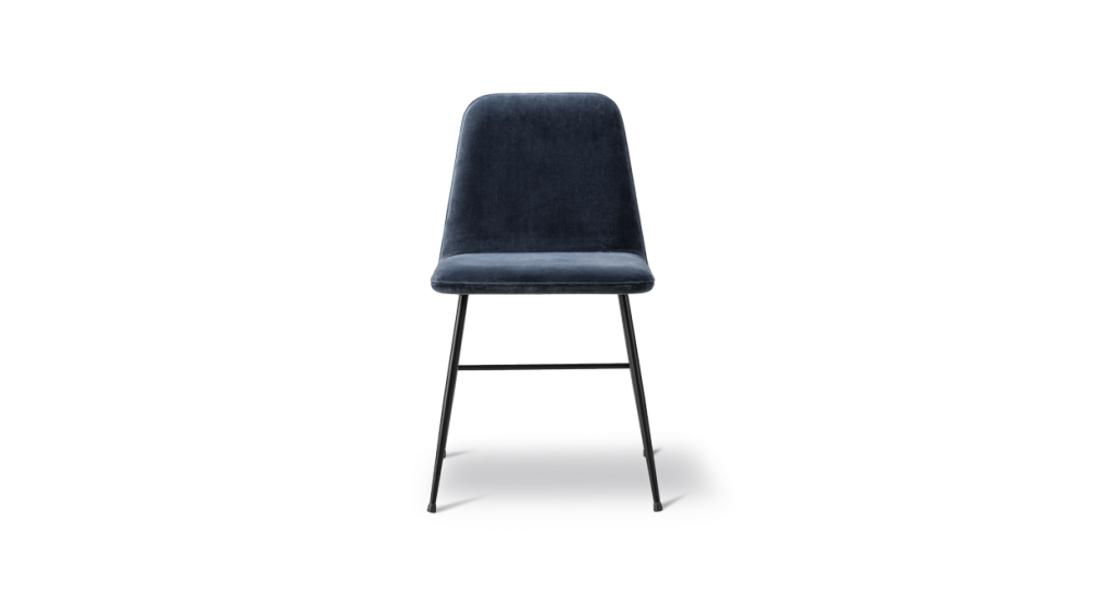 Nubuck 501 Light sand, Black,Fredericia,Dining Chairs,black,chair,furniture