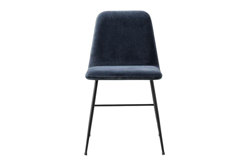 06 Linara Parsnip, Dark Bonze,Fredericia,Dining Chairs,black,chair,furniture