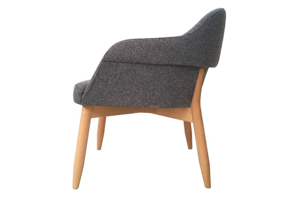 Divina 3 106, Beechwood 0078,Billiani,Lounge Chairs,chair,furniture