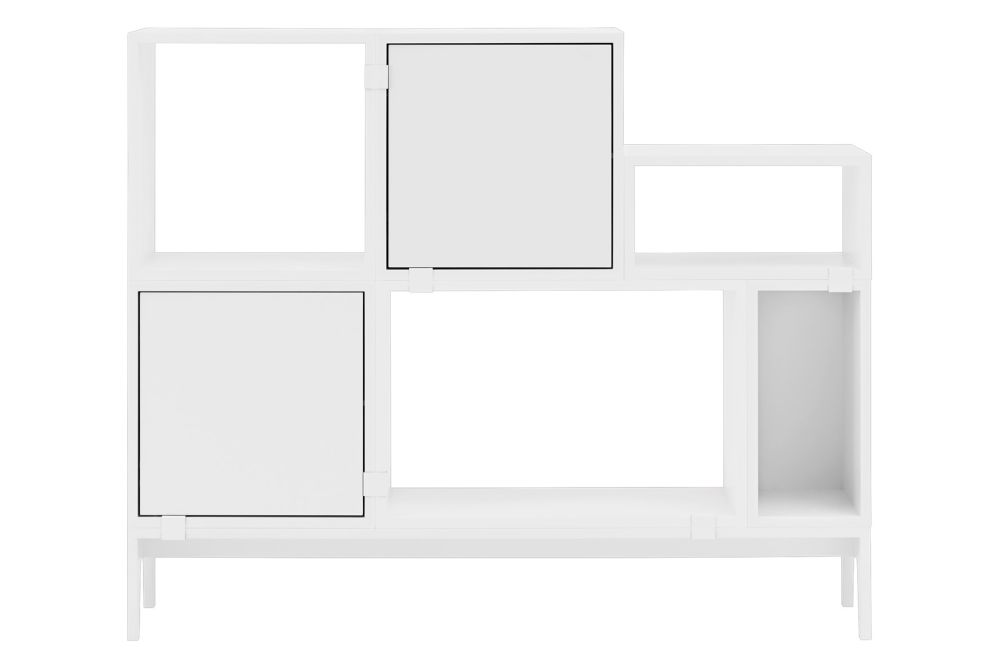 Stacked Storage System 2.0 - Configuration 1 by Muuto