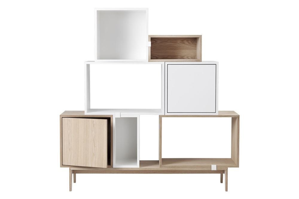 Stacked Storage System 2.0 - Configuration 2 by Muuto