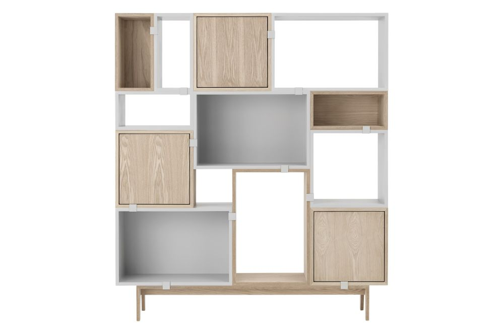 Stacked Storage System 2.0 - Configuration 6 by Muuto