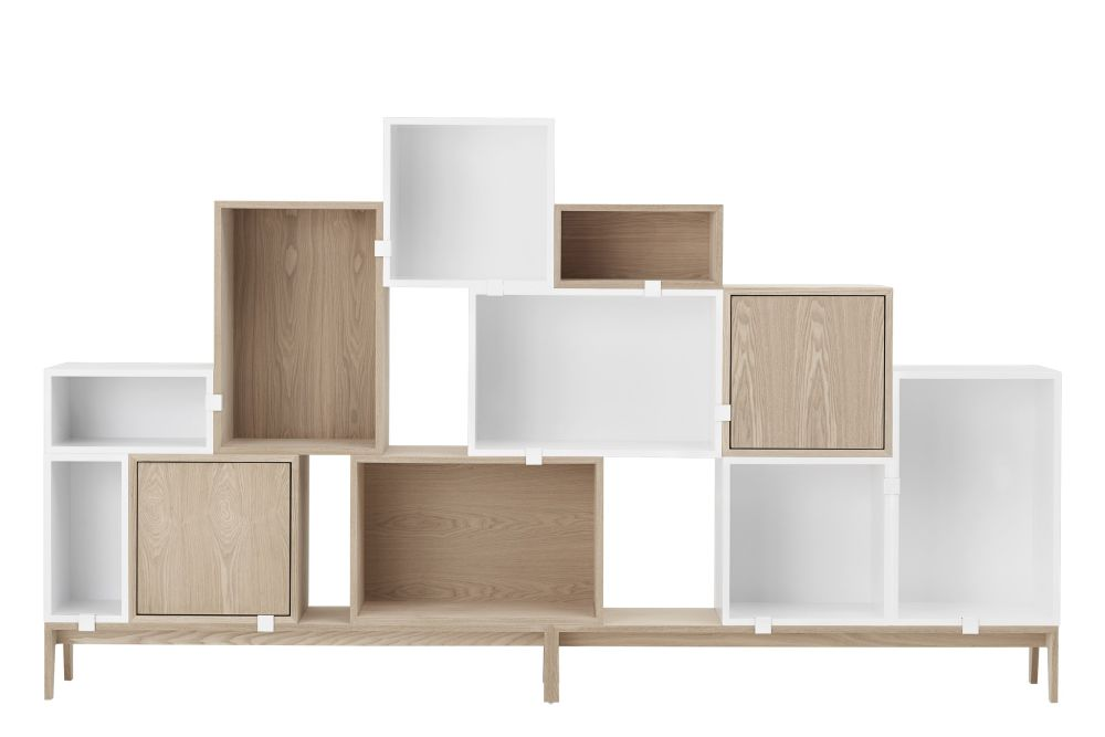 Stacked Storage System 2.0 - Configuration 8 by Muuto