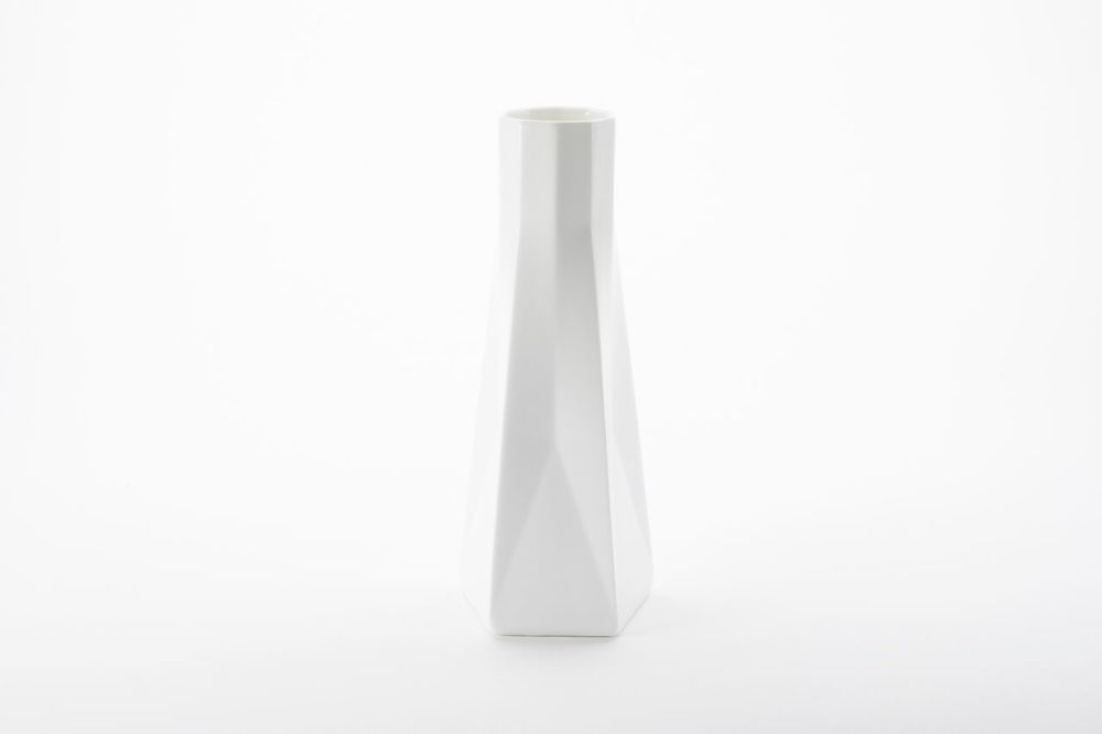 Standard Ware Tall Vase,1882 Ltd,Vases,cylinder,table,vase,white