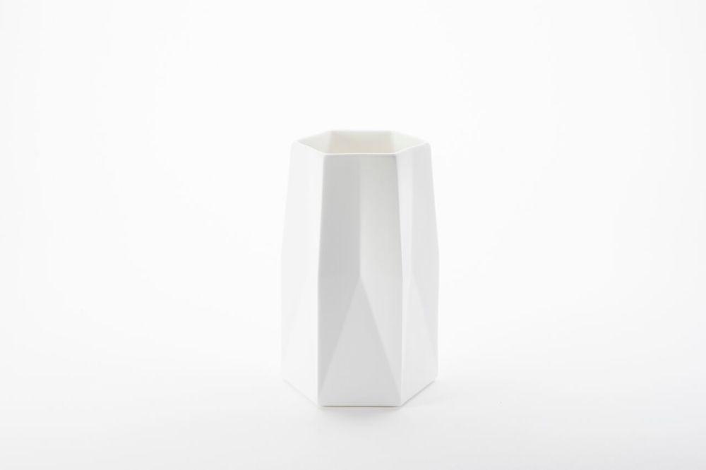 Standard Ware Vase,1882 Ltd,Vases,cylinder,white