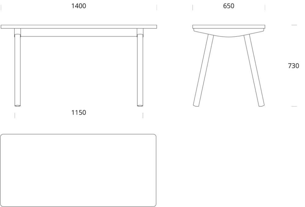 Elm,Nikari,Dining Tables,furniture,line,table,text