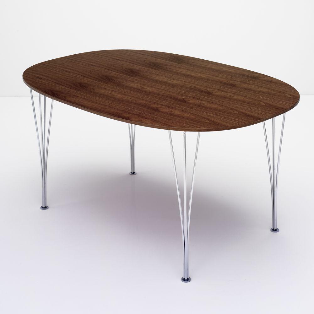 Super-elliptical Dining Table by Fritz Hansen