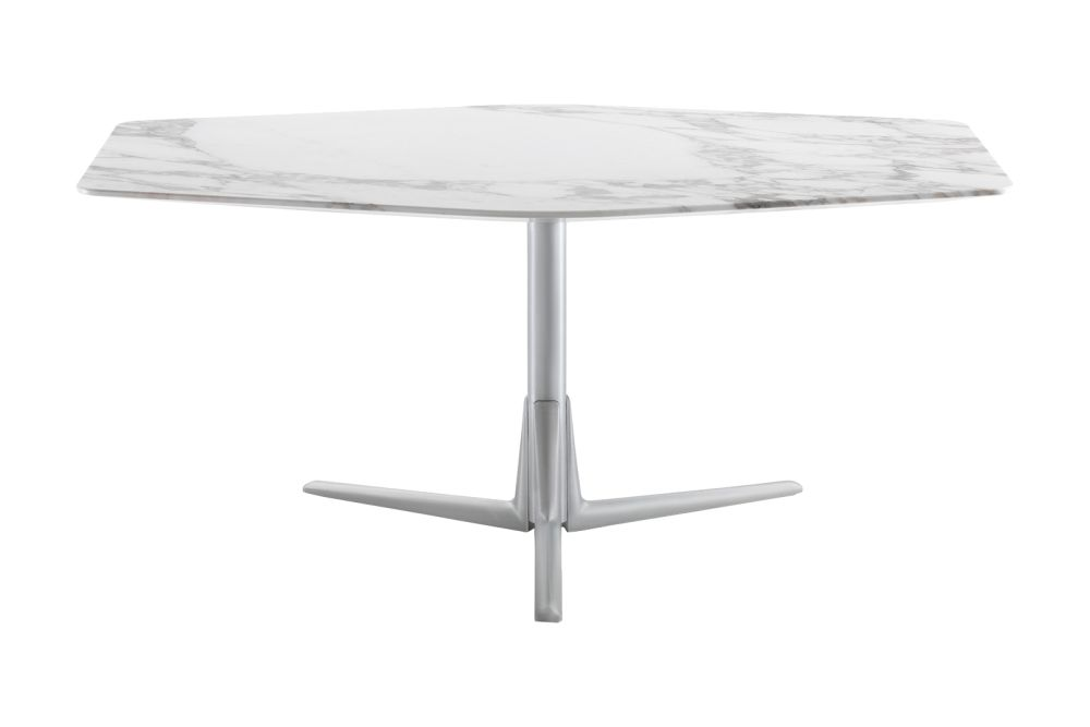 Sveva Hexagonal Side Table by Flexform