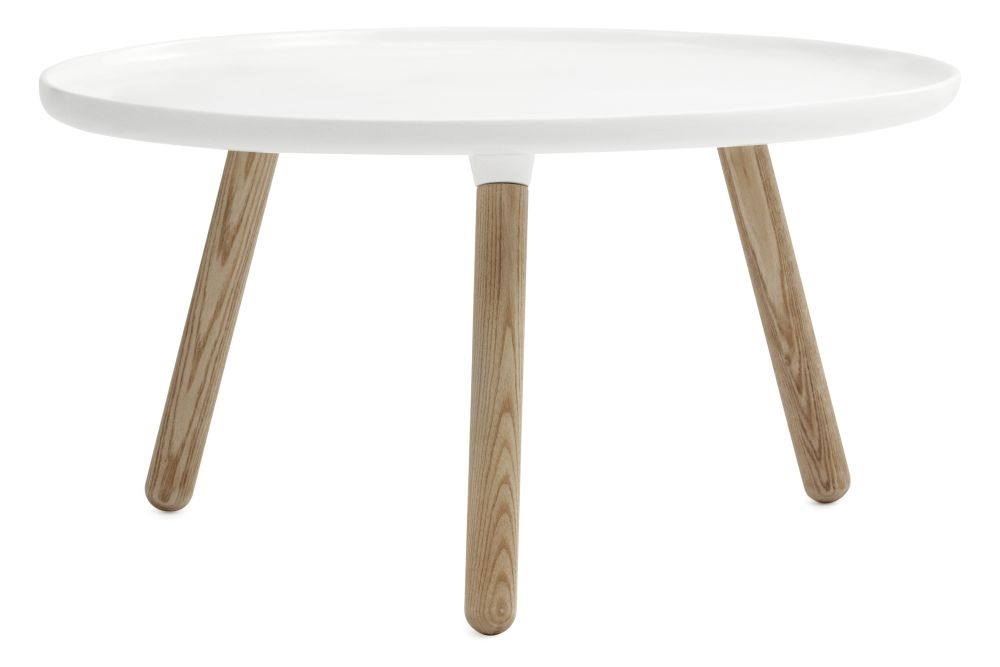 Grey Top, Natural Ash Legs, Small,Normann Copenhagen,Coffee & Side Tables,coffee table,furniture,outdoor table,oval,stool,table