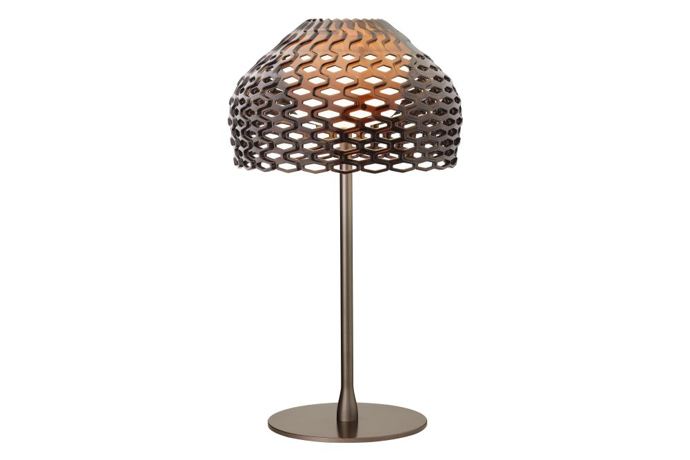 Polycarbonate Ochre - Grey,Flos,Table Lamps,lamp,lampshade,light fixture,lighting,lighting accessory