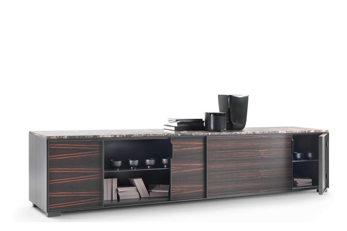 Taylor Cabinet with Four Doors - 280x55 by Flexform