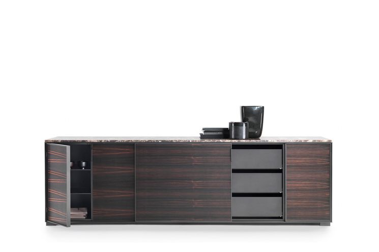 Taylor Cabinet with Sliding Doors - 190x55 by Flexform