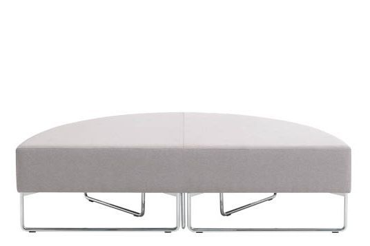Pricegrp. c1, Colour W01-White,Inclass,Stools,furniture,ottoman,table