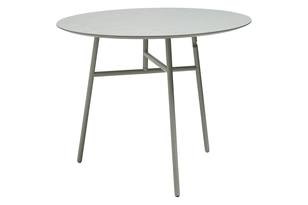 Wood White Ash / Metal White,Hay,Dining Tables,coffee table,end table,furniture,outdoor furniture,outdoor table,table