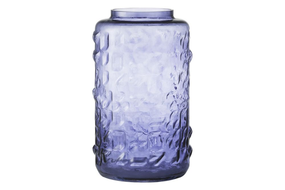Purple, 31cm tall,Normann Copenhagen,Vases,blue,bottle,cobalt blue,food storage containers,glass,mason jar,plastic bottle
