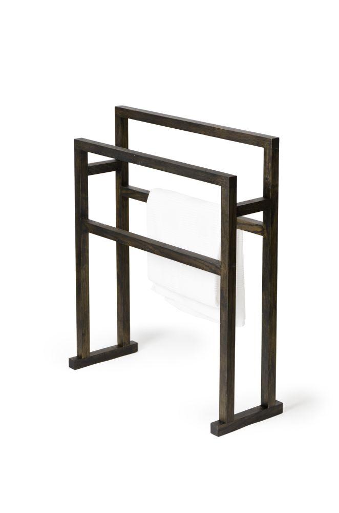 Towel rail Mezza Grande - Natural Oak,Wireworks,Accessories,desk,furniture,line,table