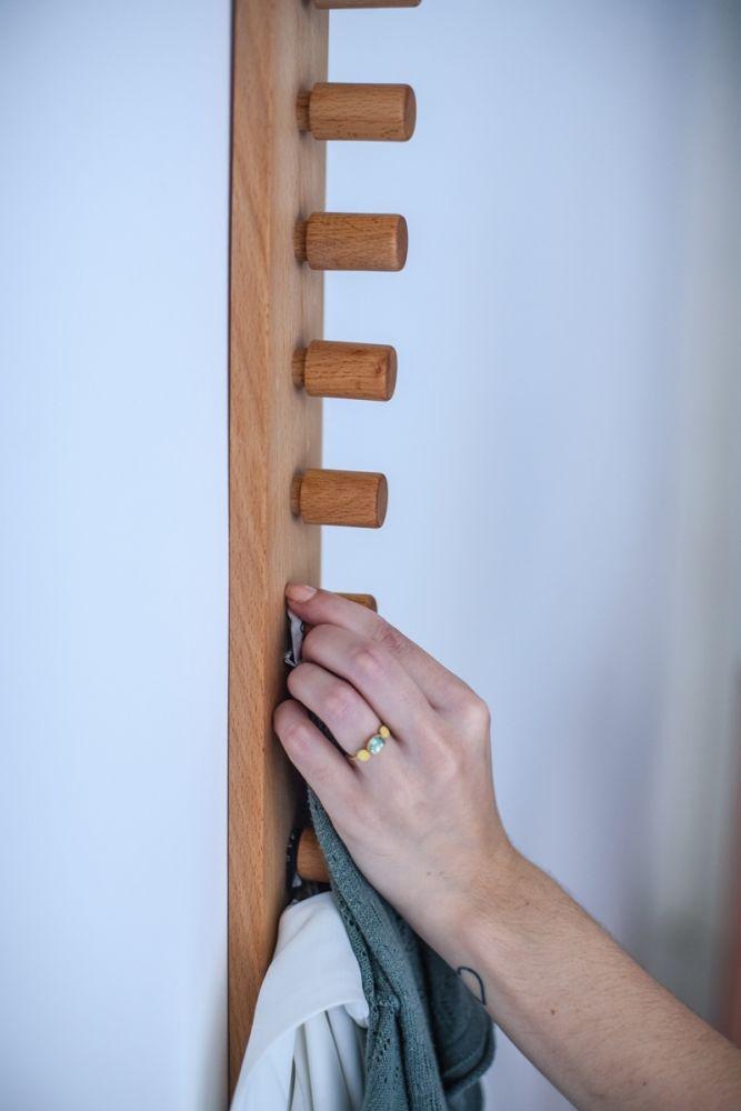 Love, Ana. design studio,Hooks & Hangers,wall,wood
