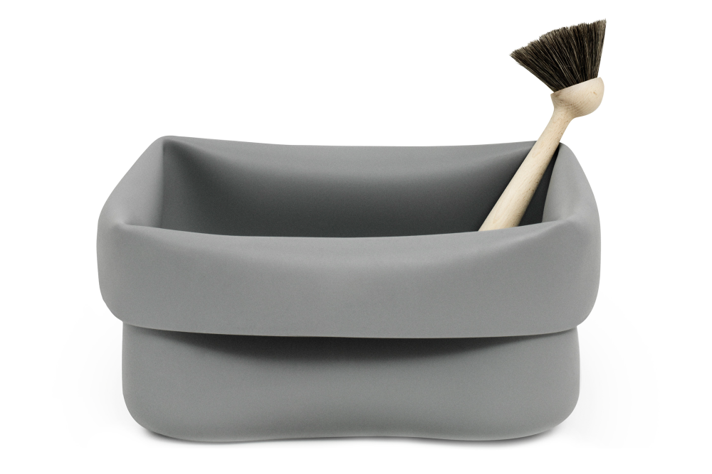 Black,Normann Copenhagen,Kitchenware,brush,mortar and pestle,product