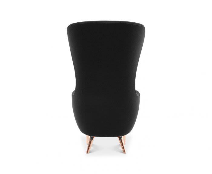 TD Chrome, Elmo Soft Leather 00100,Tom Dixon,Armchairs,black,chair