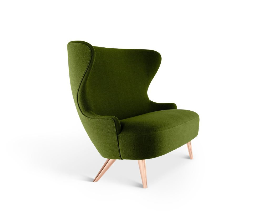 TD Black Oak, Hallingdal 65 116,Tom Dixon,Sofas,chair,club chair,furniture,green