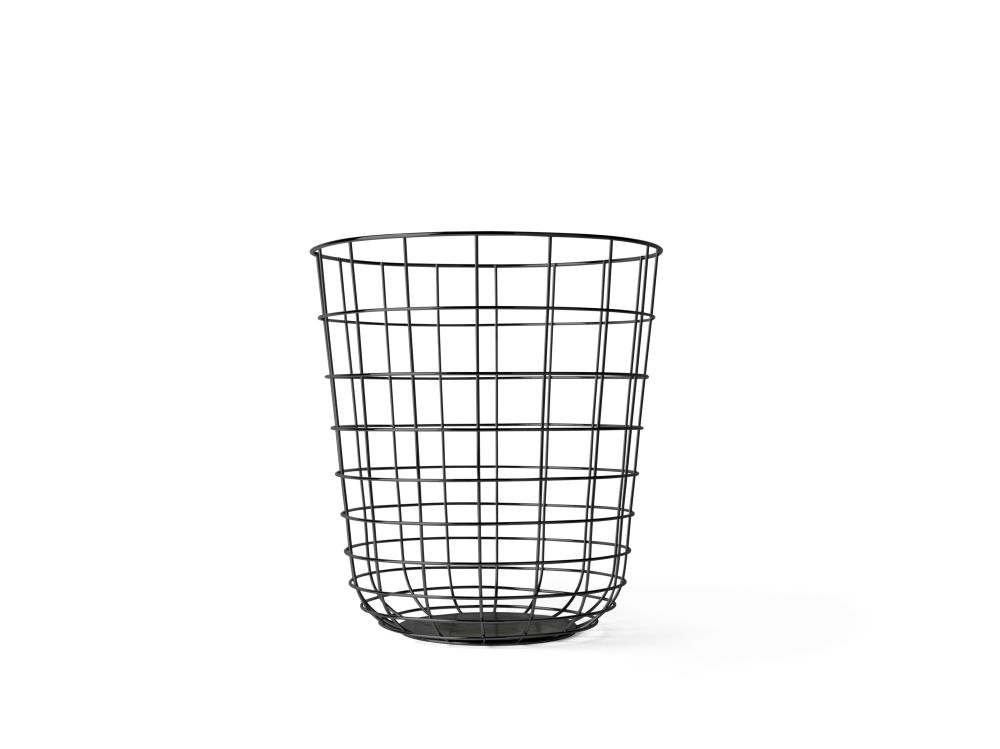 Black,MENU,Small Storage & Organizers,basket,storage basket