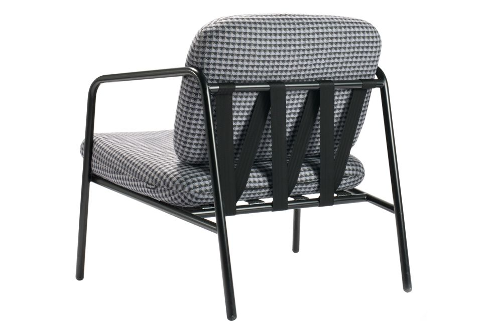 Rivet Tensile EGL20, Jet Black - RAL 9005,Deadgood,Lounge Chairs,chair,furniture,outdoor furniture