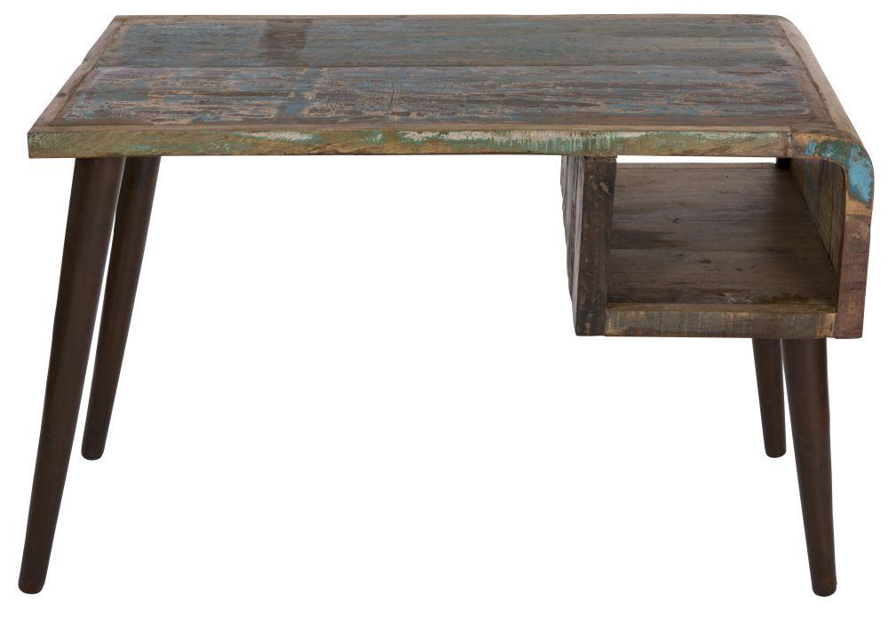 Worli Reclaimed Wood Desk,Reason Season Time ,Office Tables & Desks,coffee table,desk,end table,furniture,outdoor furniture,outdoor table,rectangle,sofa tables,table,wood,wood stain