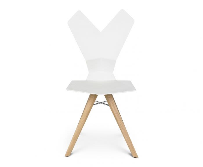 Y Chair Wood Base by Tom Dixon