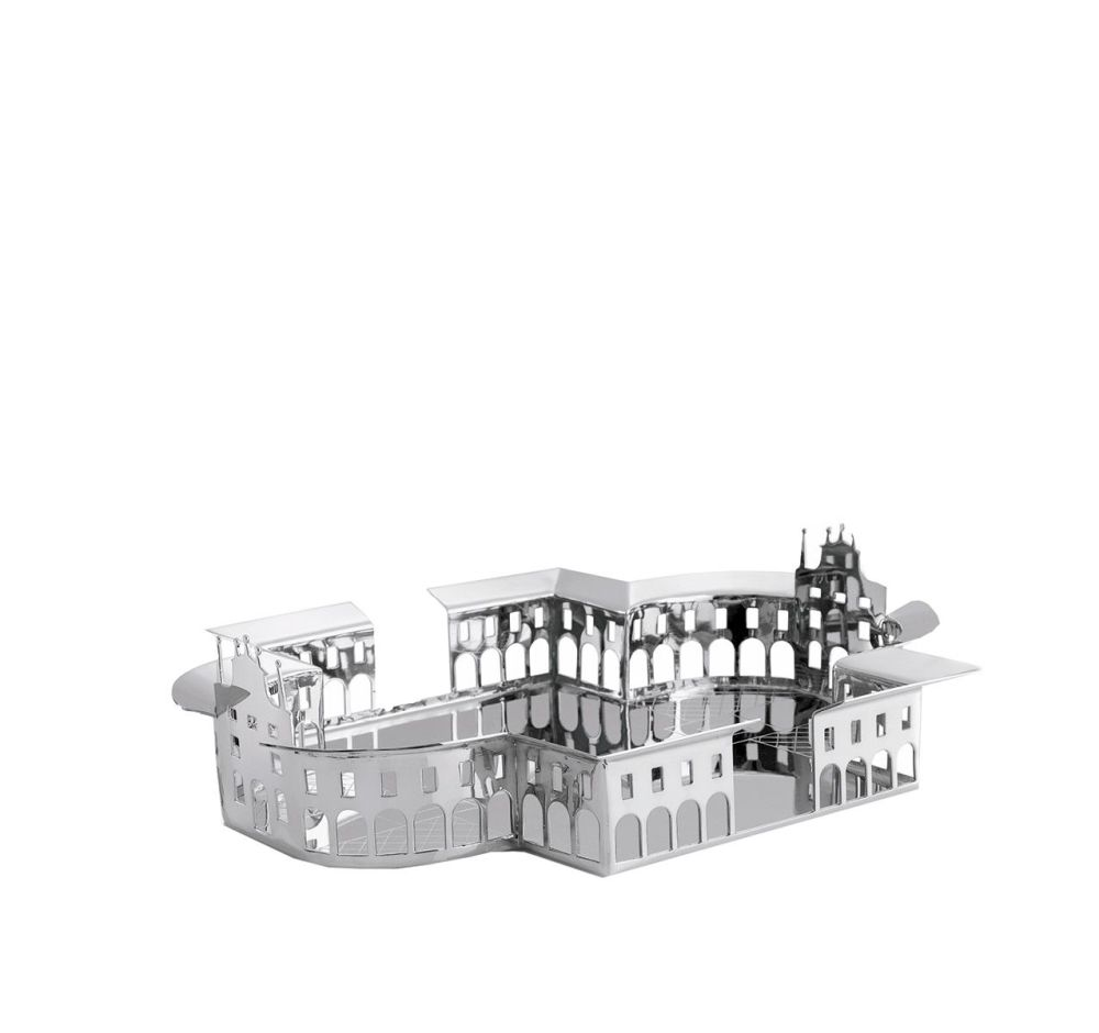 Silver-plated Brass,Driade,Trays,architecture