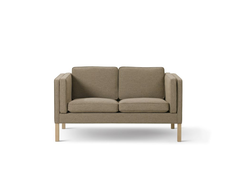 Oak Black Lacquered, Nubuck 501 Light sand,Fredericia,Sofas,beige,chair,couch,furniture,loveseat,outdoor furniture,sofa bed