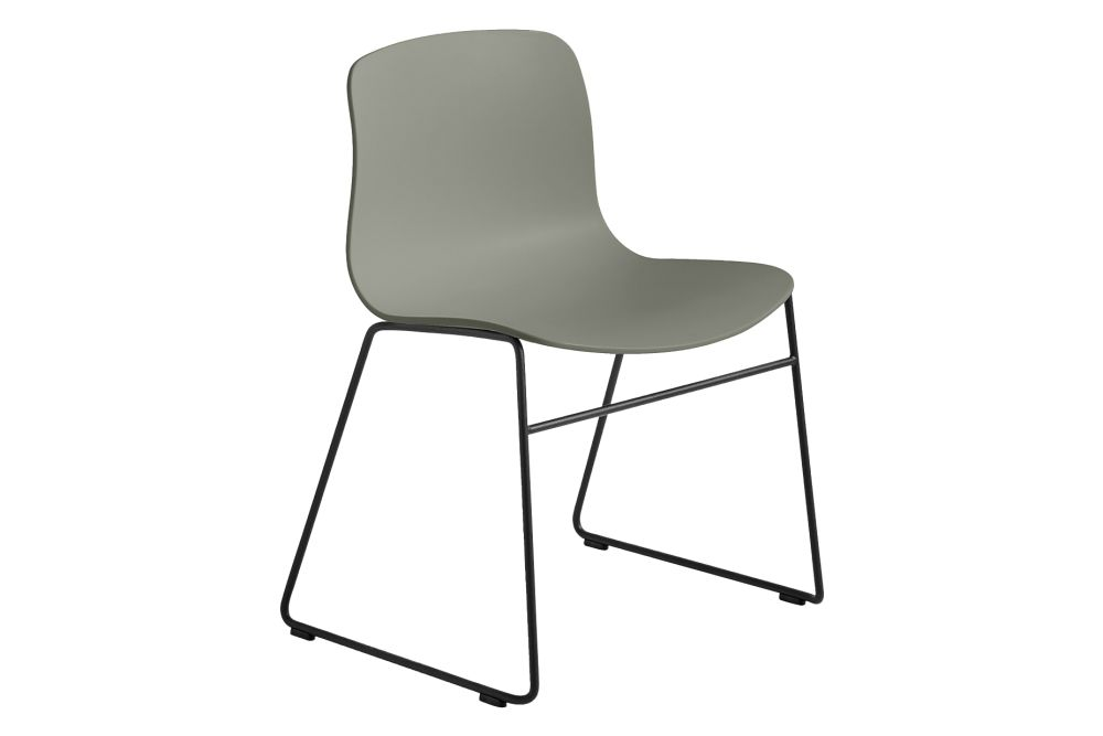 Metal Black, Plastic White,Hay,Dining Chairs,chair,furniture,line
