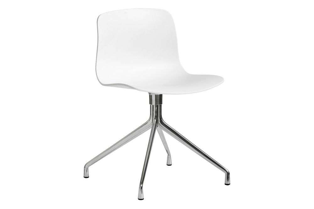 Metal White, Plastic Black,Hay,Office Chairs,chair,furniture,line,material property,office chair