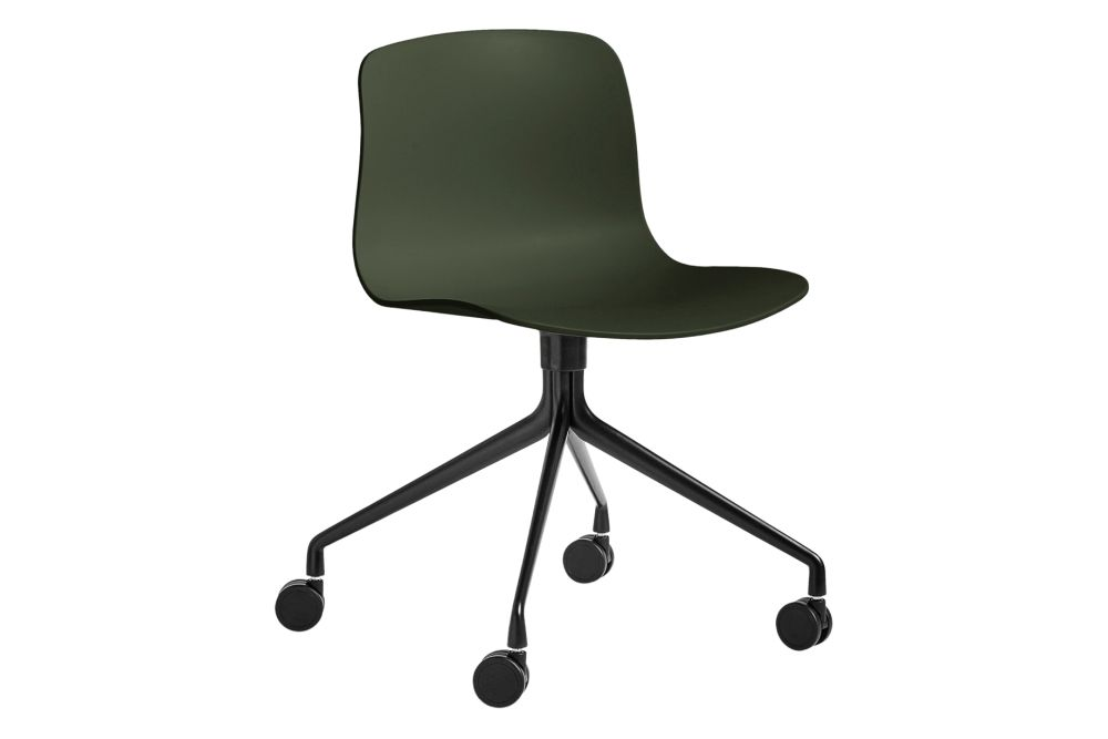 Metal Black, Plastic Black,Hay,Conference Chairs,chair,furniture,line,material property,office chair