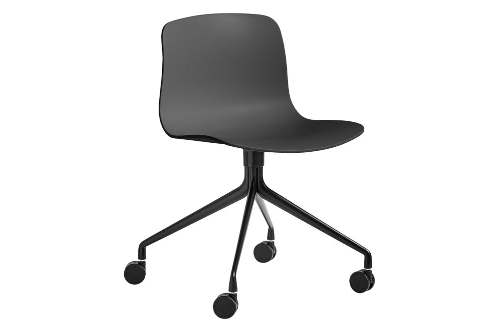Metal Black, Plastic Soft Black,Hay,Conference Chairs,chair,furniture,line,material property,office chair