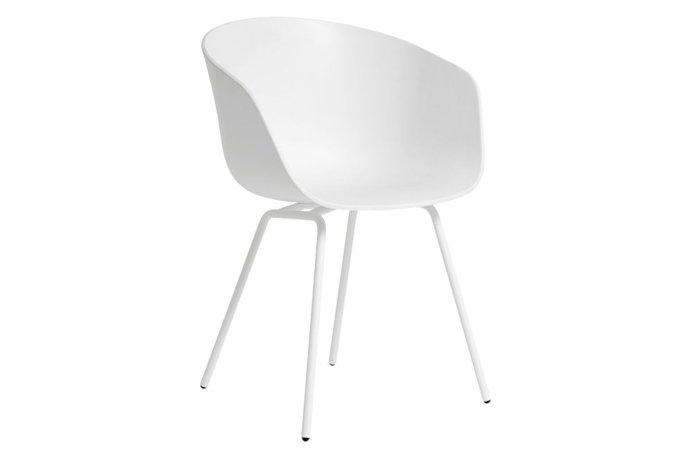 Metal White, Plastic Black,Hay,Dining Chairs,chair,furniture