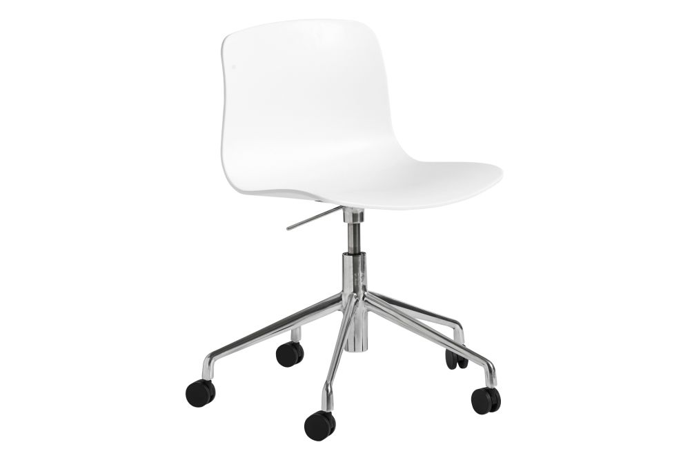 Plastic Black, Metal White,Hay,Office Chairs,chair,furniture,line,material property,office chair,product