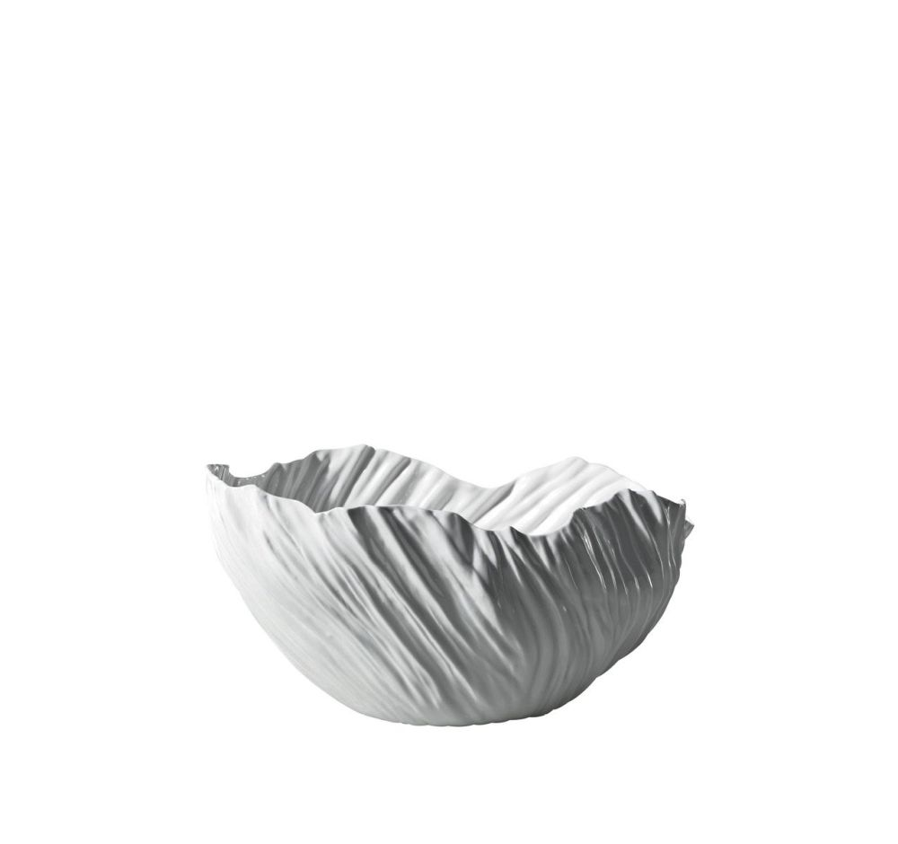 White,Driade,Vases,bowl,leaf,white