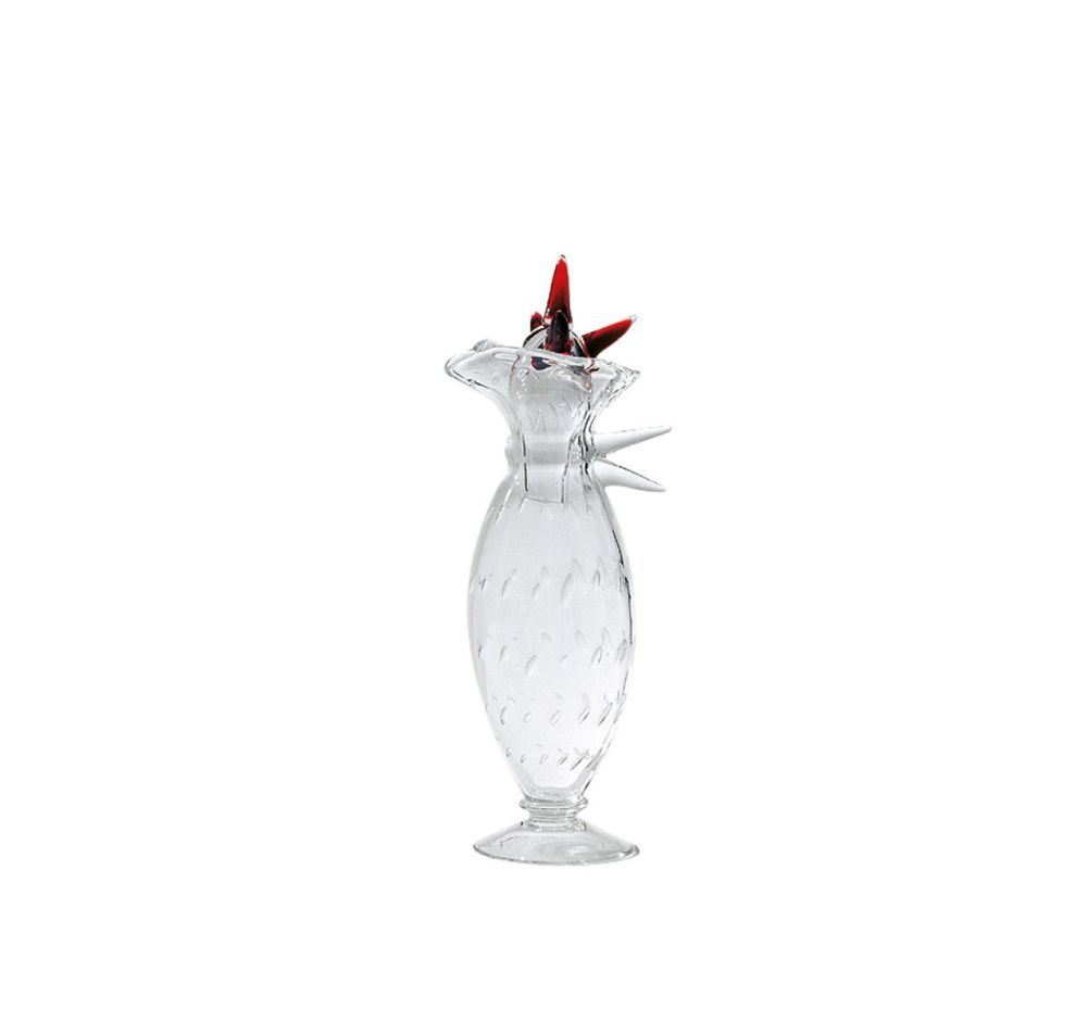 Clear and Red,Driade,Glassware,penguin